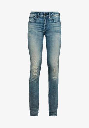 3301 MID SKINNY - Jeans Skinny Fit - vintage cool aqua restored