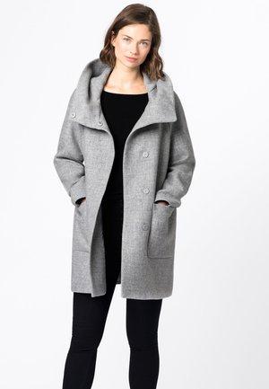 Classic coat - hell silber-melange