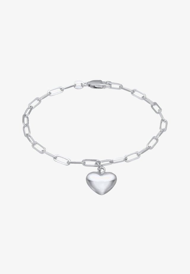 HEART LOVE - Rannekoru - silber