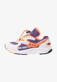 Saucony - AYA - Tenisky - white/purple/orange - 1