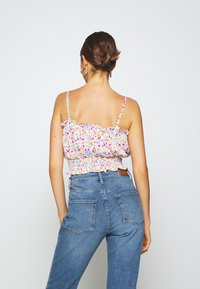 Topshop - FLORAL RUCHED SUNTOP - Top - multi coloured - 2