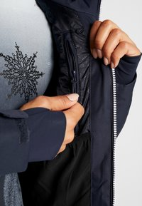 CMP - WOMAN JACKET FIX HOOD - Kurtka narciarska - black blue - 5