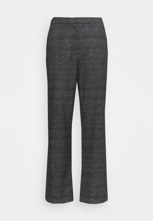 MARNY TROUSERS - Pantalon classique - grey / check