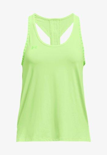 KNOCKOUT TANK - Sports shirt - green