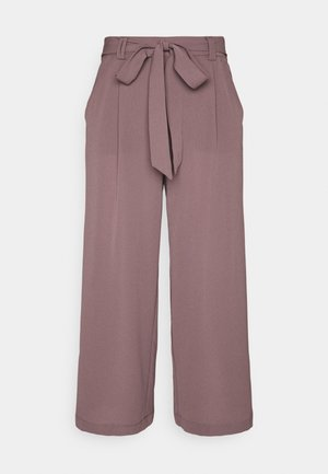ONLWINNER PALAZZO CULOTTE PANT - Trousers - rose brown