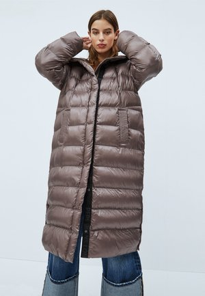 LIZZY - Winter coat - marrón bark