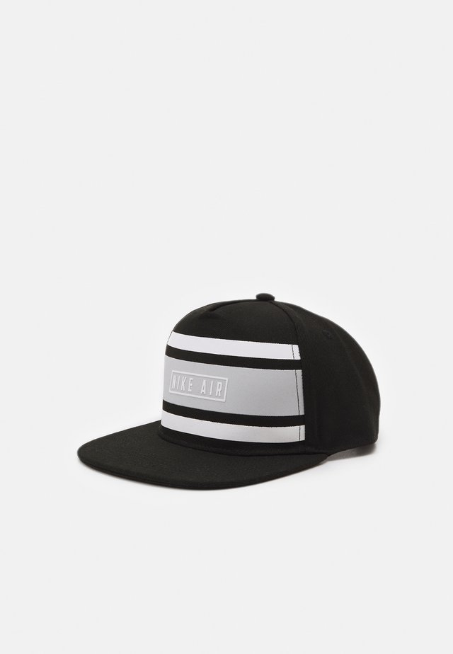 STRIPE SNAPBACK UNISEX - Pet - black