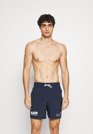 SOLID GUARD  - Swimming shorts - navy graphic