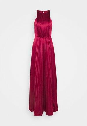 KELLI DRESS - Galajurk - burgundy