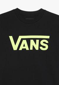 Vans - CLASSIC BOYS - T-shirts print - black/sharp green - 4