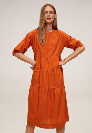 SIA-H - Korte jurk - oranžová