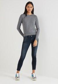Le Temps Des Cerises - Jeans Skinny Fit - black/blue - 1
