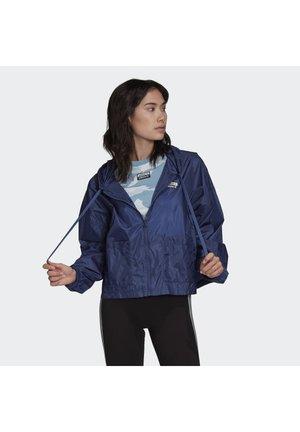 WINDBREAKER - Summer jacket - blue