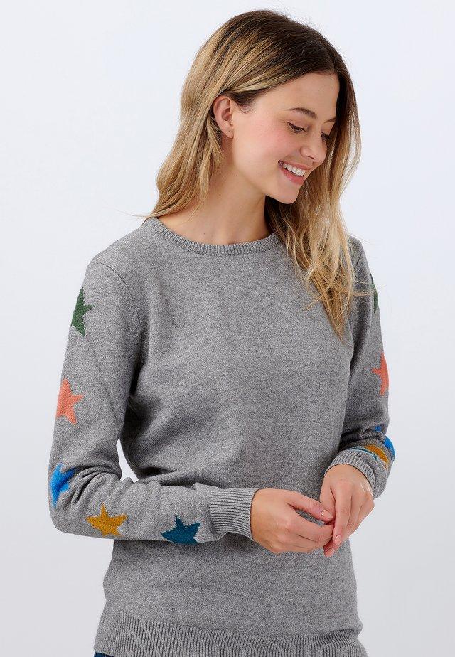 SWEATER STACEY STAR SLEEVE - Sweatshirt - grey