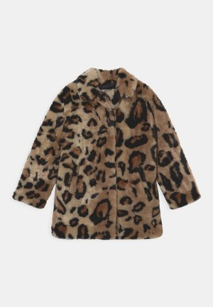 TASSALY - Short coat - multicolor brown