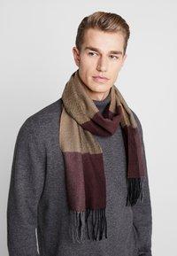 Burton Menswear London - Écharpe - burg - 0