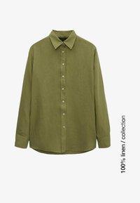 Massimo Dutti - Skjortebluser - green - 0