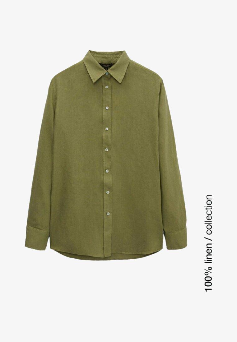 Massimo Dutti - Skjortebluser - green