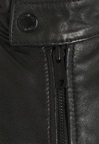 Strellson - DRIVER - Leather jacket - black - 6