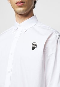 KARL LAGERFELD - SHIRT CASUAL - Shirt - white - 4