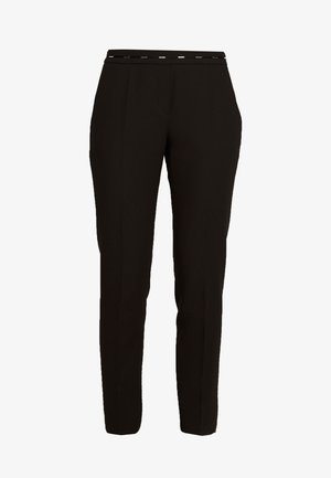 HAZENA - Trousers - black