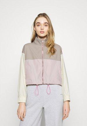 SPORTY COLOURBLOCK CO ORD ZIP - Training jacket - pink