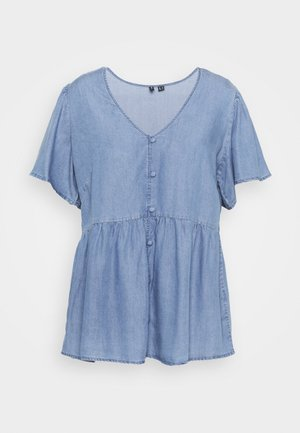 VMNAENA  - Blouse - light blue denim