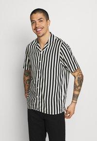 Denim Project - EL CUBA - Shirt - black/white - 0