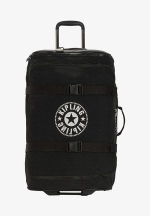 Wheeled suitcase - lively black