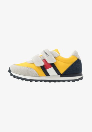 Sneakers laag - grey/yellow