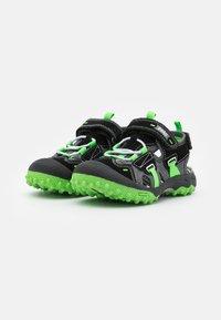 Primigi - Walking sandals - nero/grigio - 1