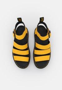 Dr. Martens - BLAIRE - Platform sandals - yellow hydro - 5