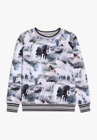 Molo - RAEWYN - Langærmede T-shirts - mottled grey - 0