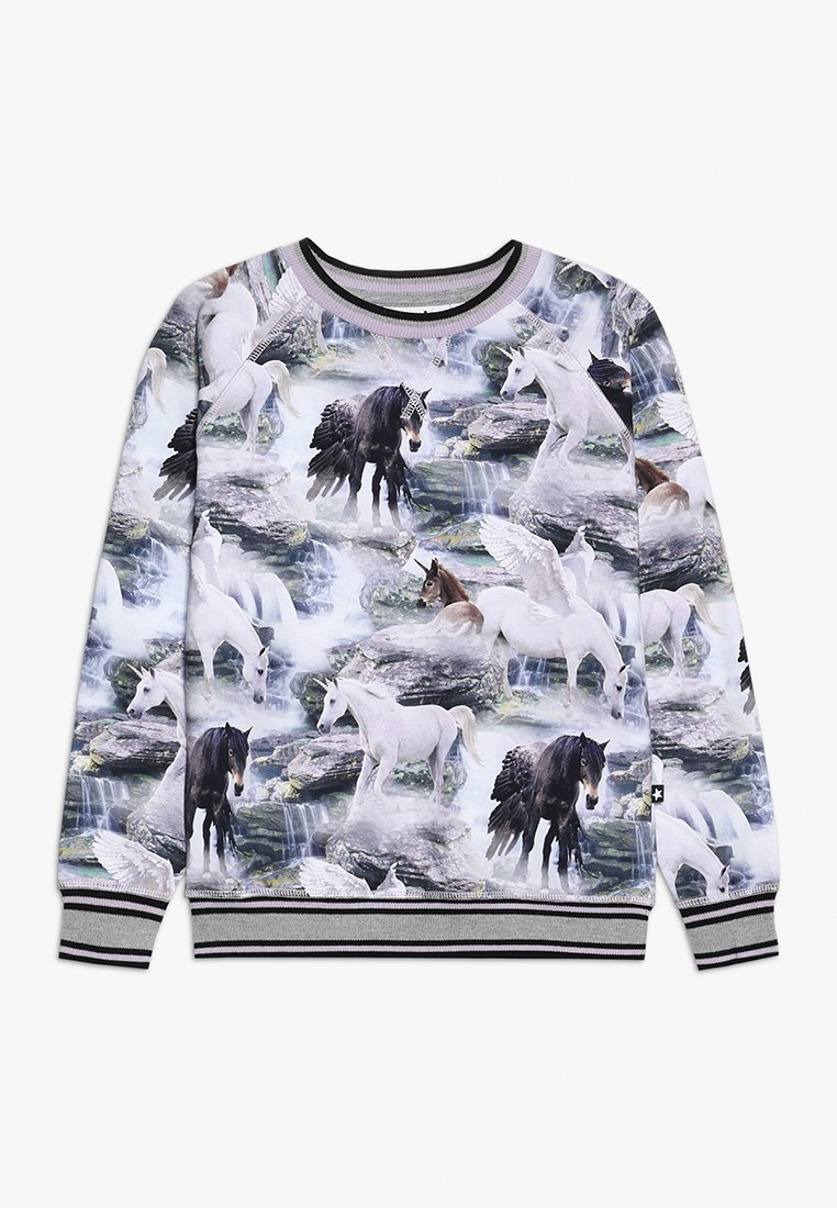 Molo - RAEWYN - Langærmede T-shirts - mottled grey