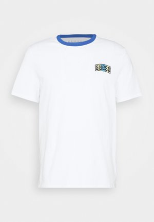 Print T-shirt - true white