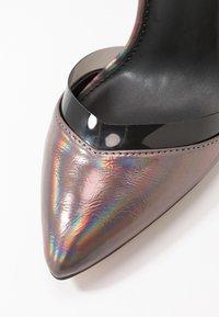 Even&Odd - High heels - gunmetal - 2