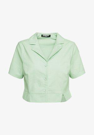 FRESH - Button-down blouse - neo mint