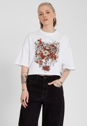 FA FORTIFEM TEE - Print T-shirt - white