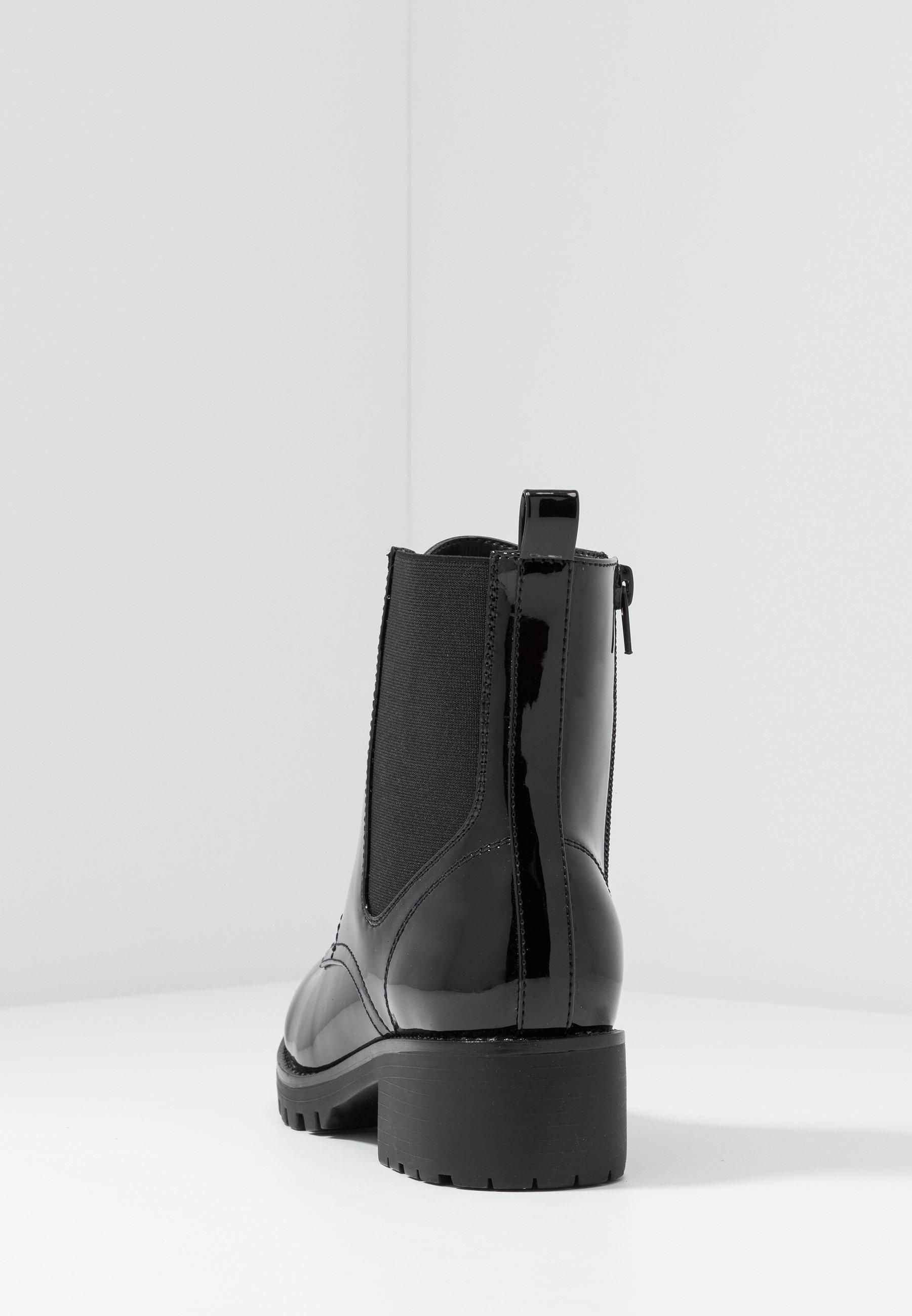 Anna Field Snørestøvletter - Black/svart