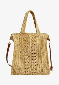 Violeta by Mango - NADINE - Shoppingveske - beige - 0