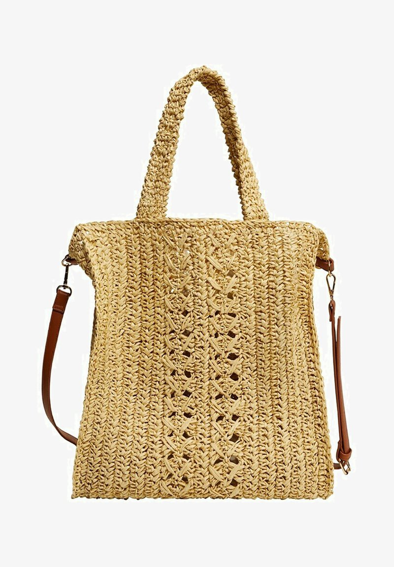 Violeta by Mango - NADINE - Shoppingveske - beige