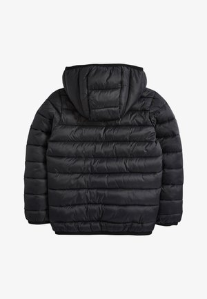 BLACK SHOWER RESISTANT PADDED JACKET (3-16YRS) - Winter jacket - black