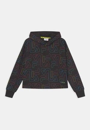 SALOME CROPPED HOODY - Sweatshirt - black