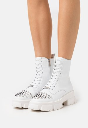 TEMPERATE - Veterboots - white