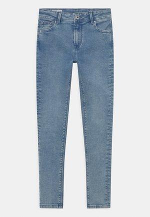 PIXLETTE HIGH - Jeans Skinny Fit - light-blue denim