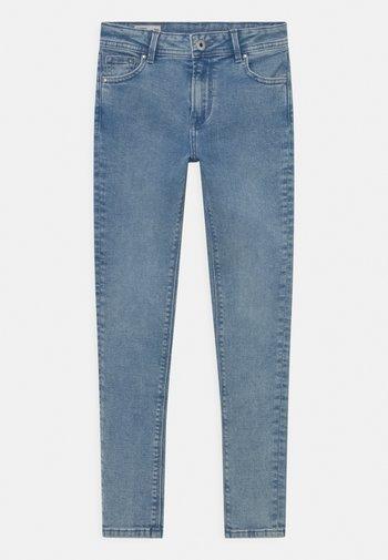 PIXLETTE HIGH - Jeansy Skinny Fit - light-blue denim