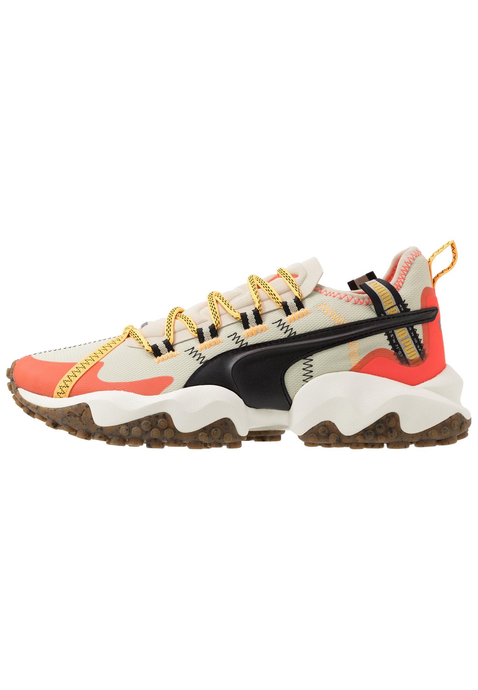 Puma ERUPT TRL - Chaussures de running - overcast/nrgy red/beige ...