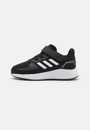 RUNFALCON 2.0 UNISEX - Neutral running shoes - core black/footwear white/silver metallic