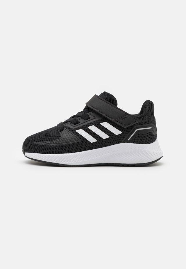 RUNFALCON 2.0 UNISEX - Neutrale løbesko - core black/footwear white/silver metallic