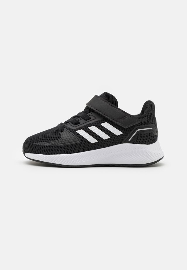 RUNFALCON 2.0 UNISEX - Obuwie do biegania treningowe - core black/footwear white/silver metallic